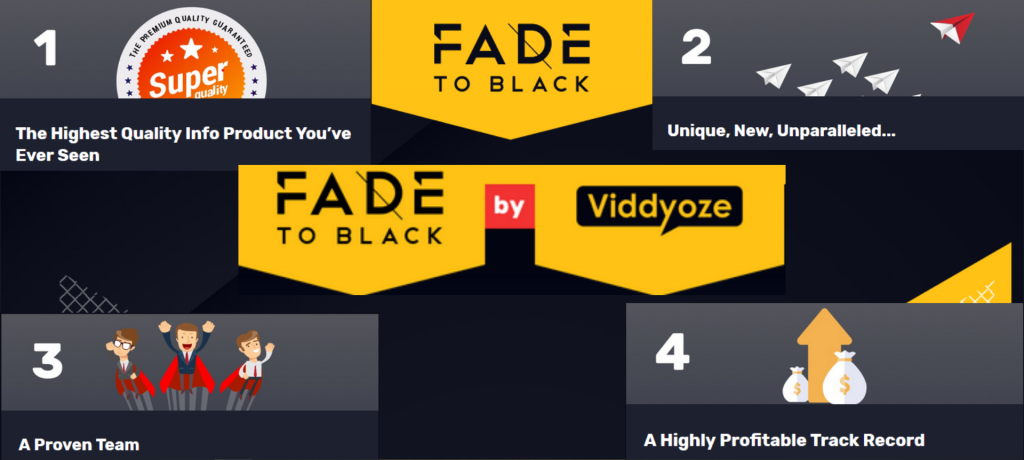 Fade To Black Review: Huge Bonus + OTO'S + Demo